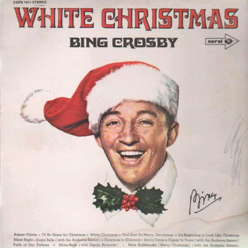 White Christmas Bing Crosby Christmas Songs
