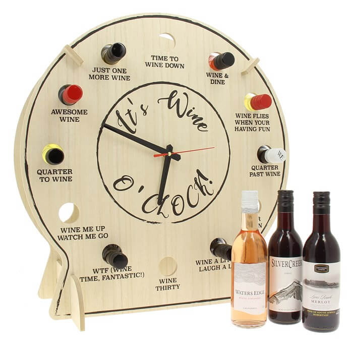 Wine O'Clock Christmas Gifts for Girlfriend