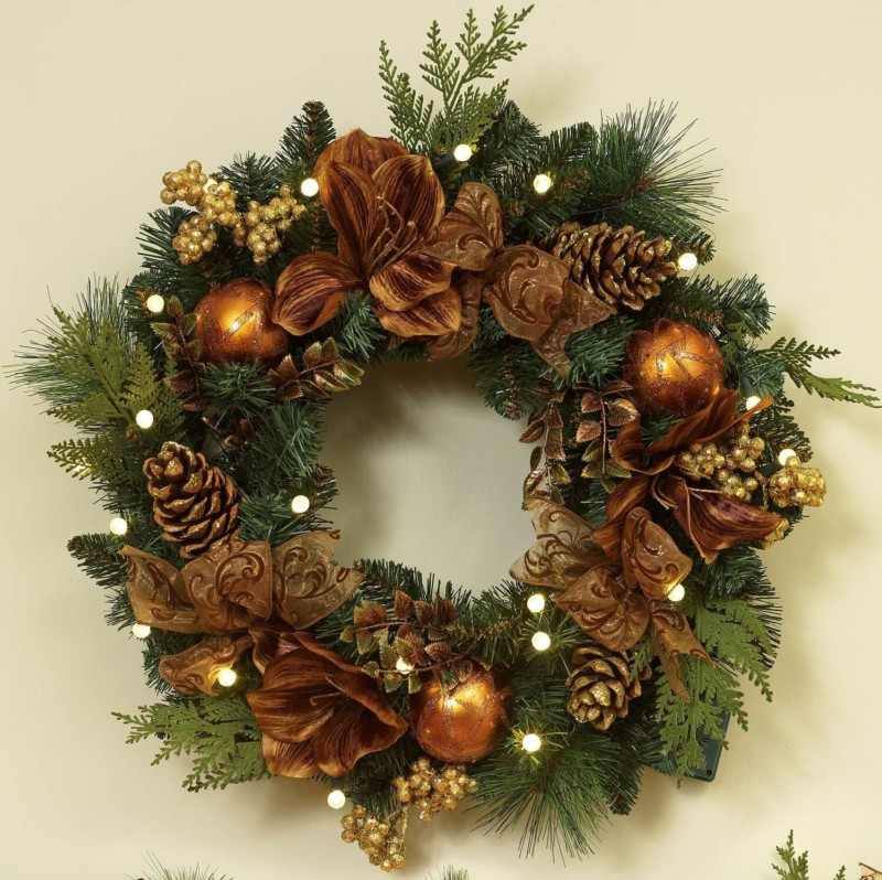 Wreath Christmas decorations ideas for home