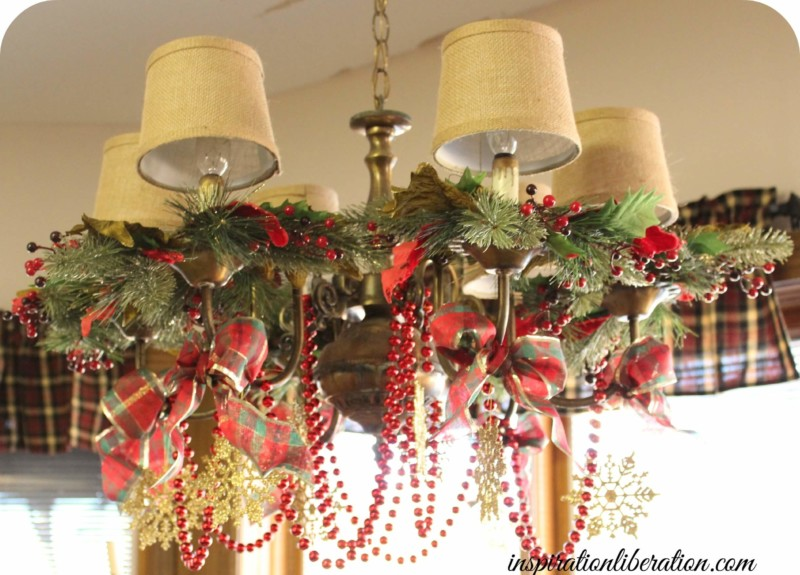 chandelier christmas decorations home Christmas decorations ideas for home