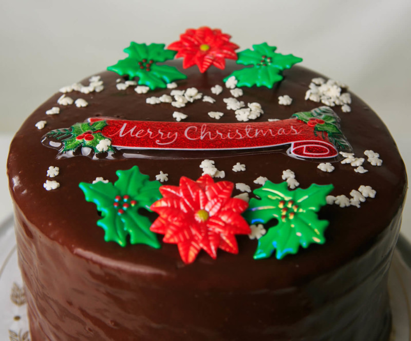 christmas cake ideas chocolate