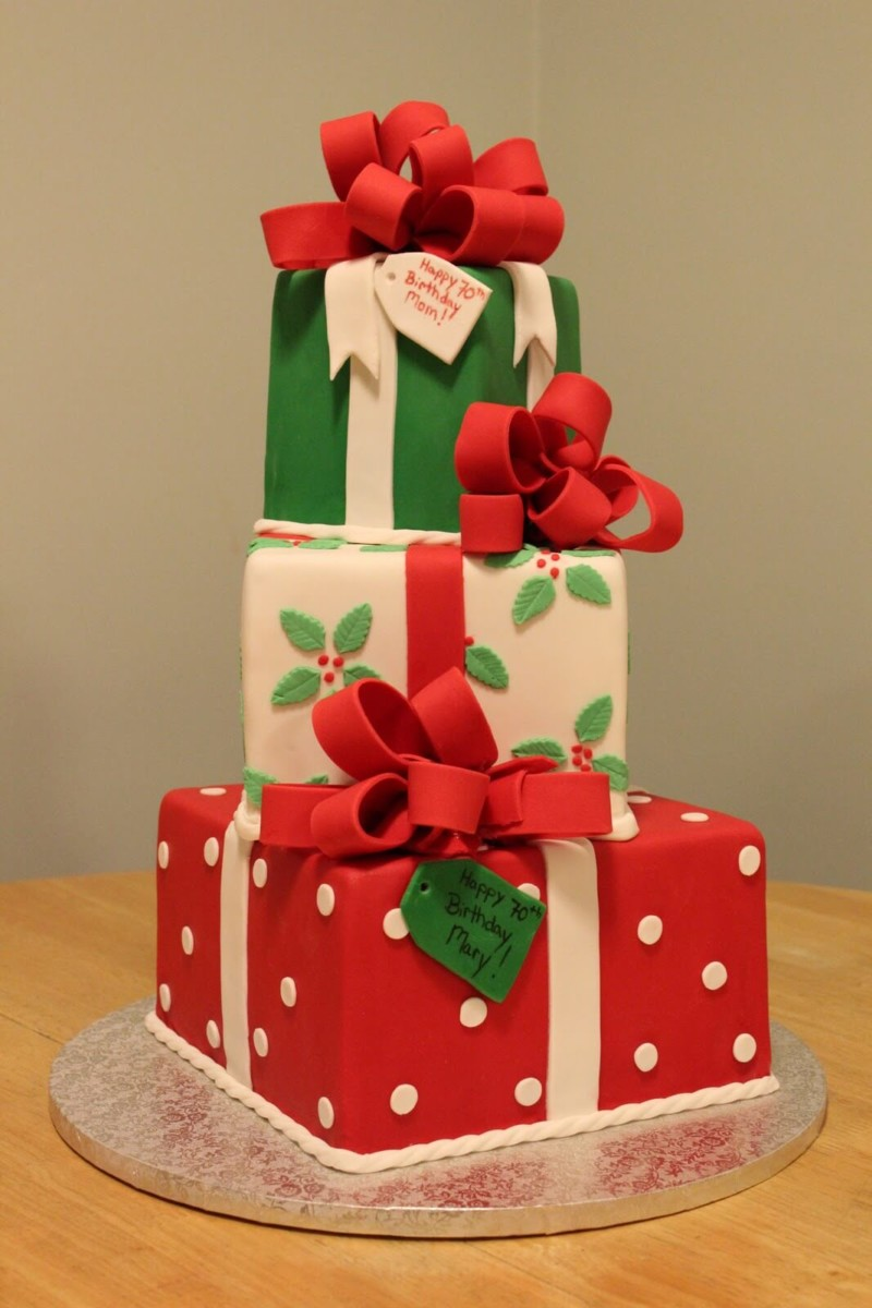 christmas cake ideas gifts