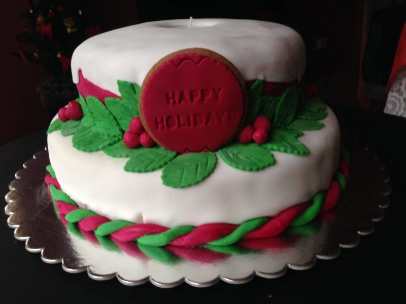 christmas cake ideas happy