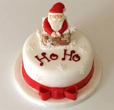 christmas cake ideas hoho santa