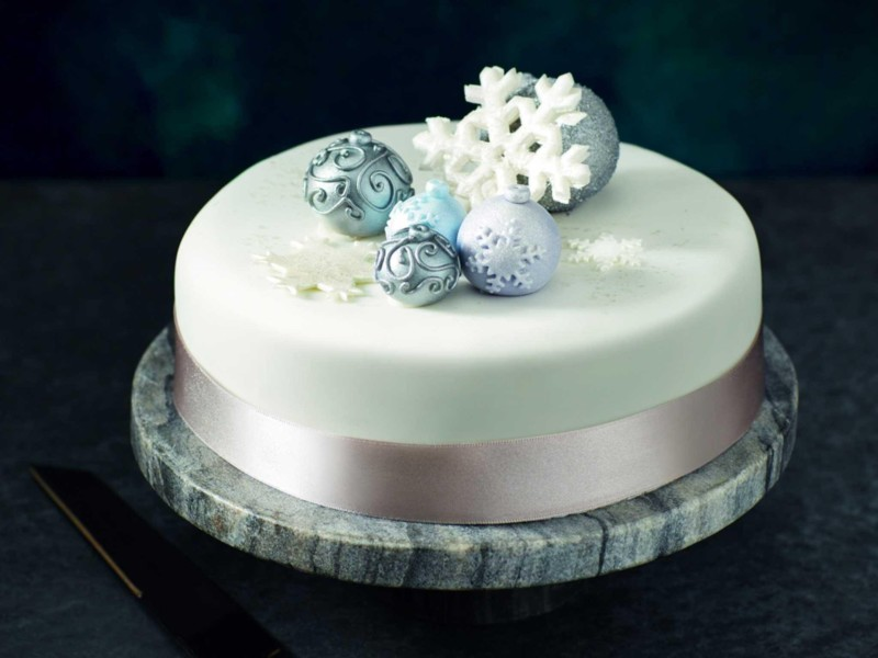 christmas cake ideas icycle
