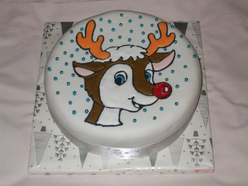 christmas cake ideas simply cute