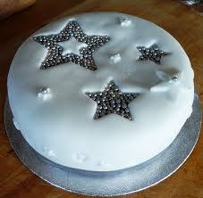 christmas cake ideas stars