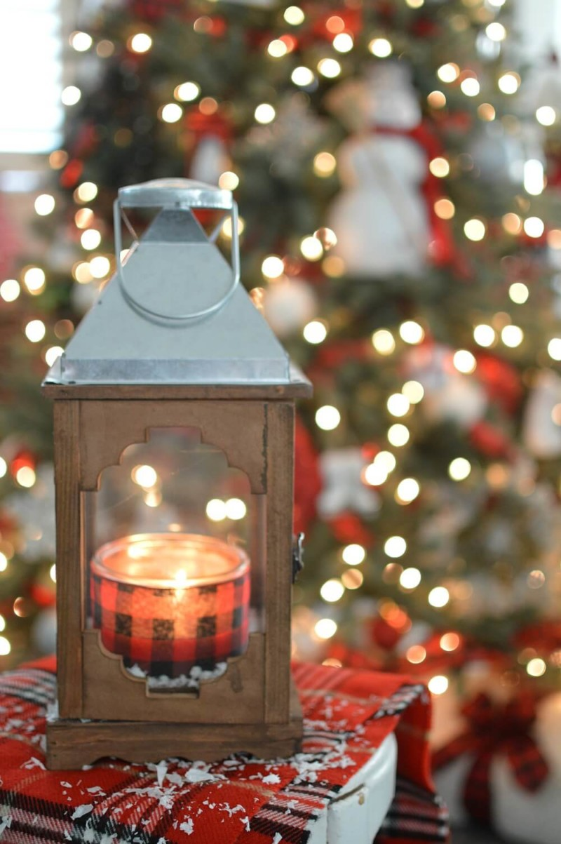 christmas lantern Christmas decorations ideas for home