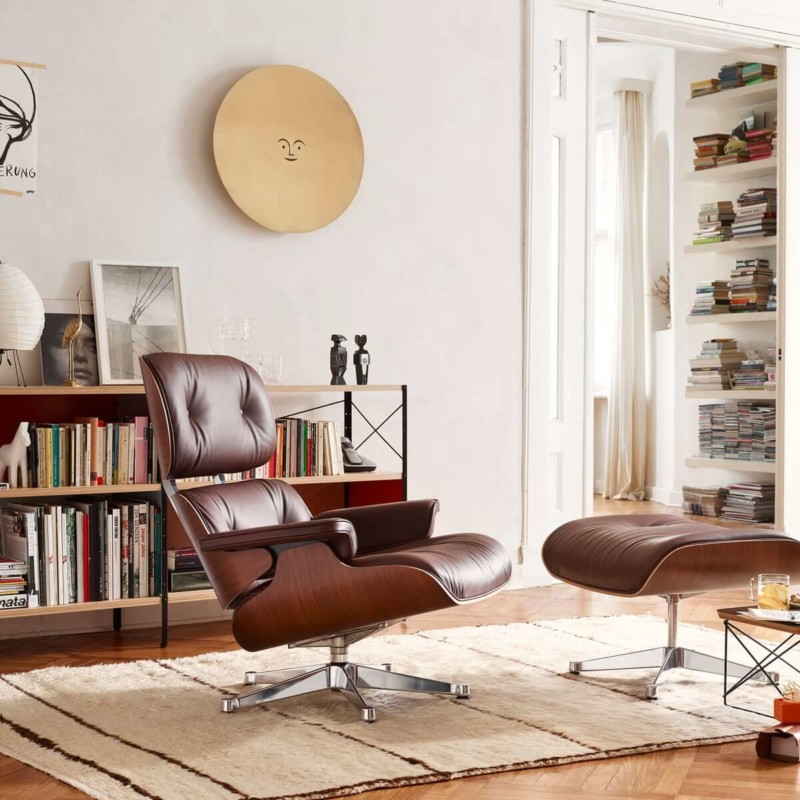 Eames Lounge Chair Chair in Living Room