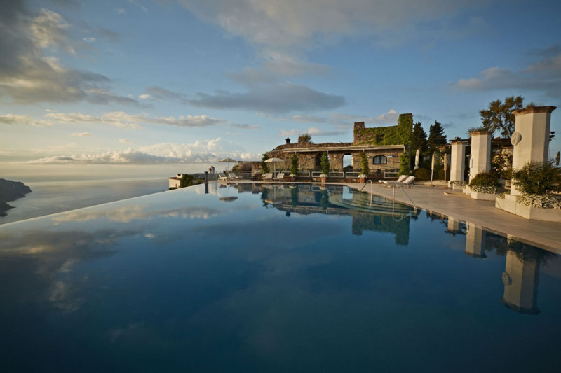 Hotel Caruso, Ravello, Italy Most expensive wedding destinations