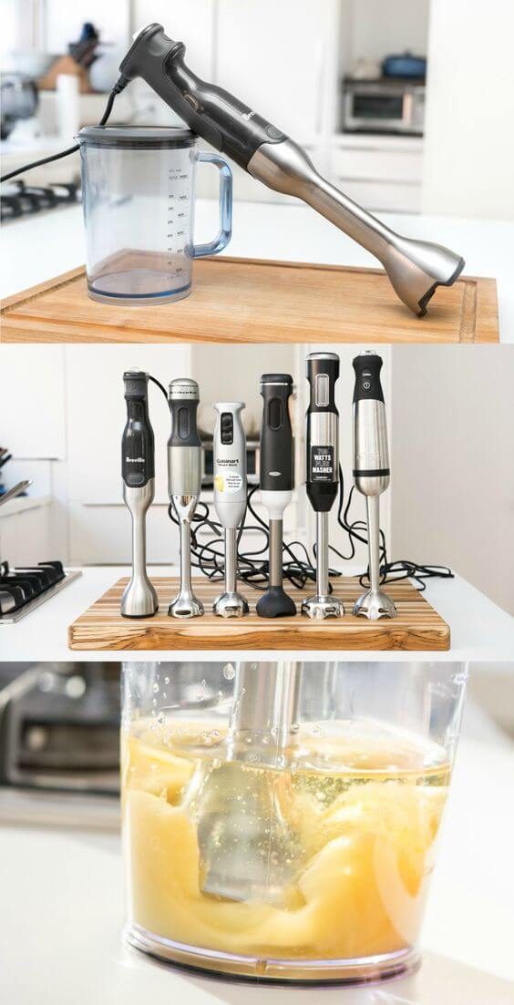 Immersion Blender. 50 Best Kitchen Utensils, Tools & Gadgets to Spend Less Time in the Kitchen