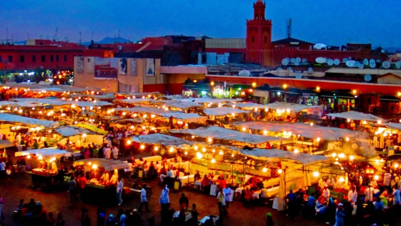 Marrakech, Morocco Best Honeymoon Destinations