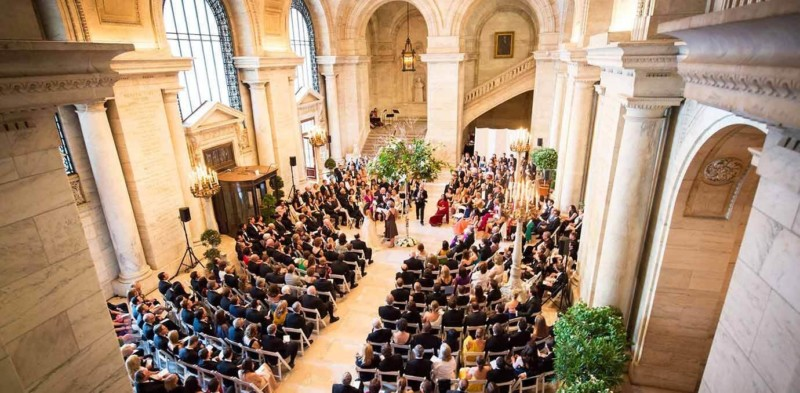 New York Public Library, Manhattan, New York Most expensive wedding destinations