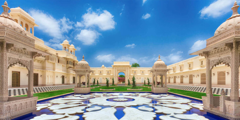 Oberoi Udaivilas, Udaipur, India Most expensive wedding destinations