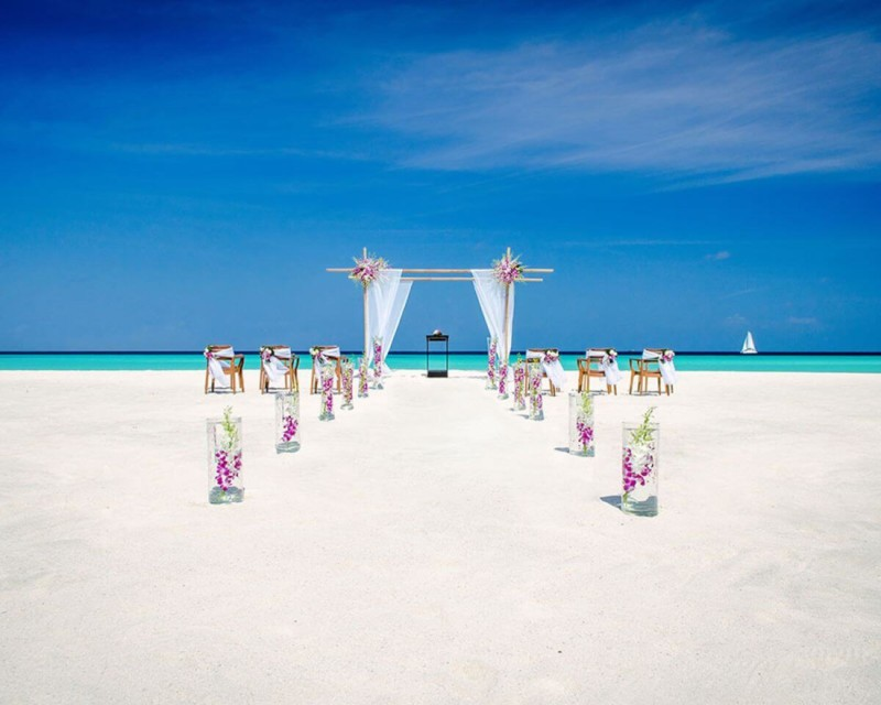 One & Only Reethi Rah Resort, the Maldives Most expensive wedding destinations
