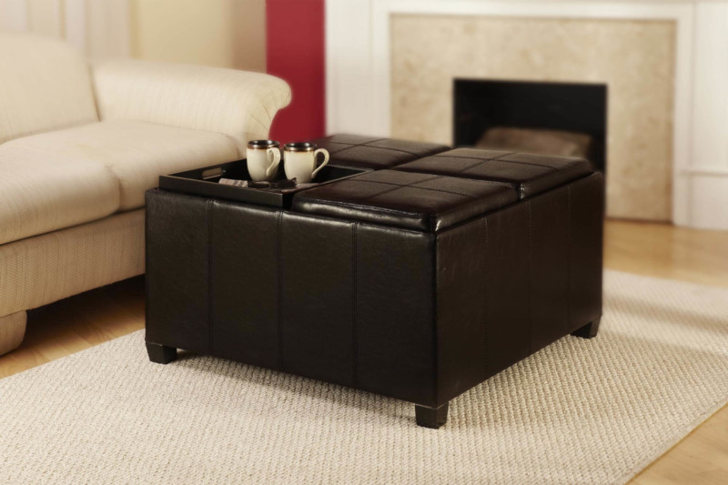 Ottomans coffee table Extra Seating in Your Living Room