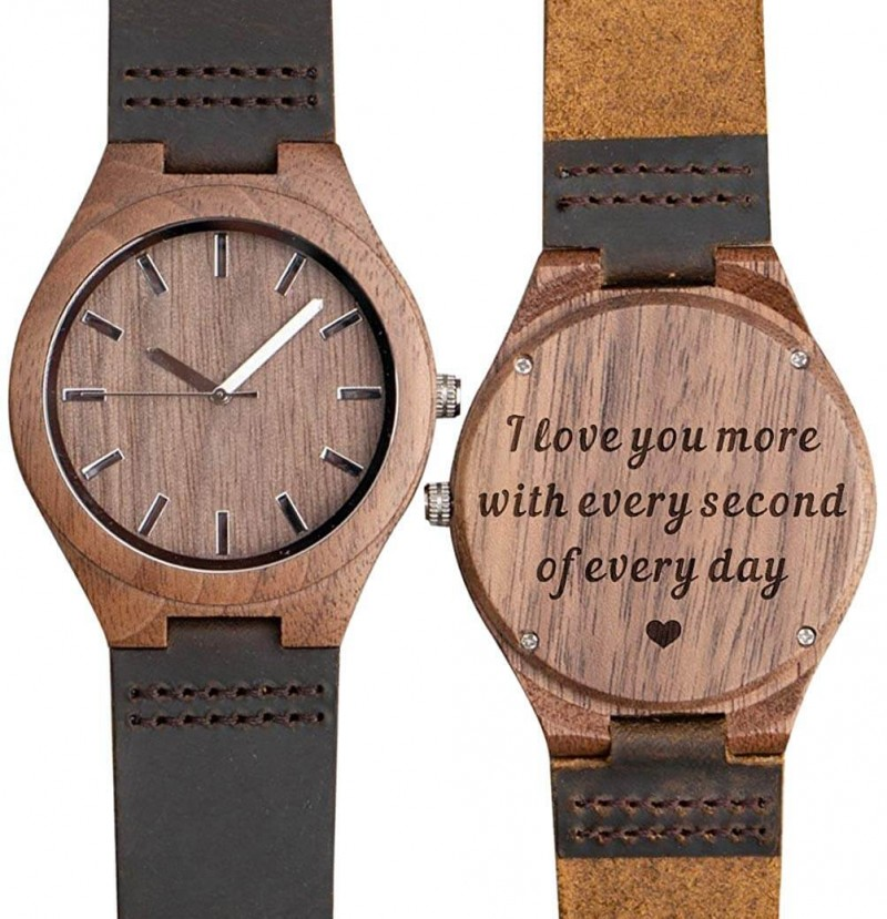 Personalized Men's Watch.