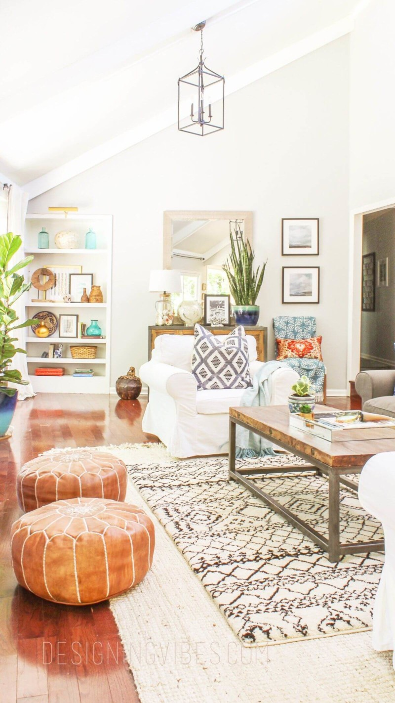 Bohemian Living Room Decor On A Budget