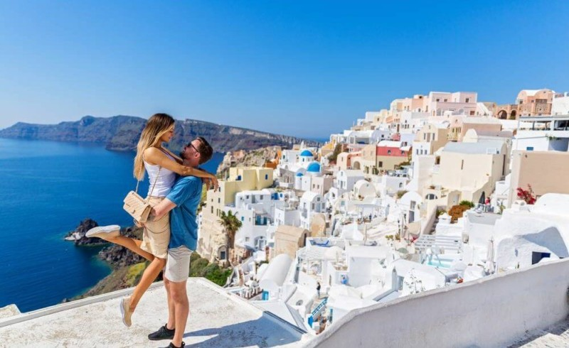 Santorini Greece Best Honeymoon Destinations