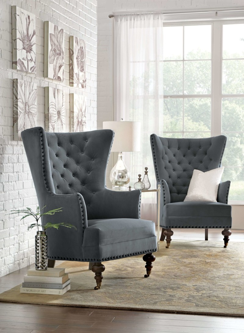 Wing Chairs Chair in Living Room