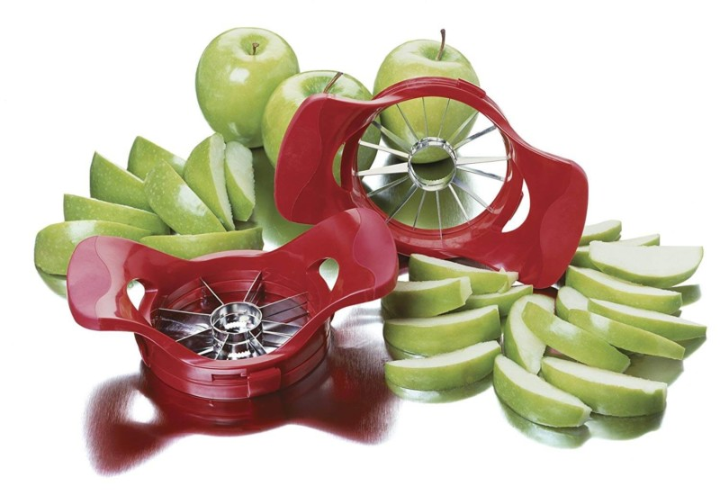 Adjustable Apple Slicer and Corer. 50 Best Kitchen Utensils, Tools & Gadgets to Spend Less Time in the Kitchen