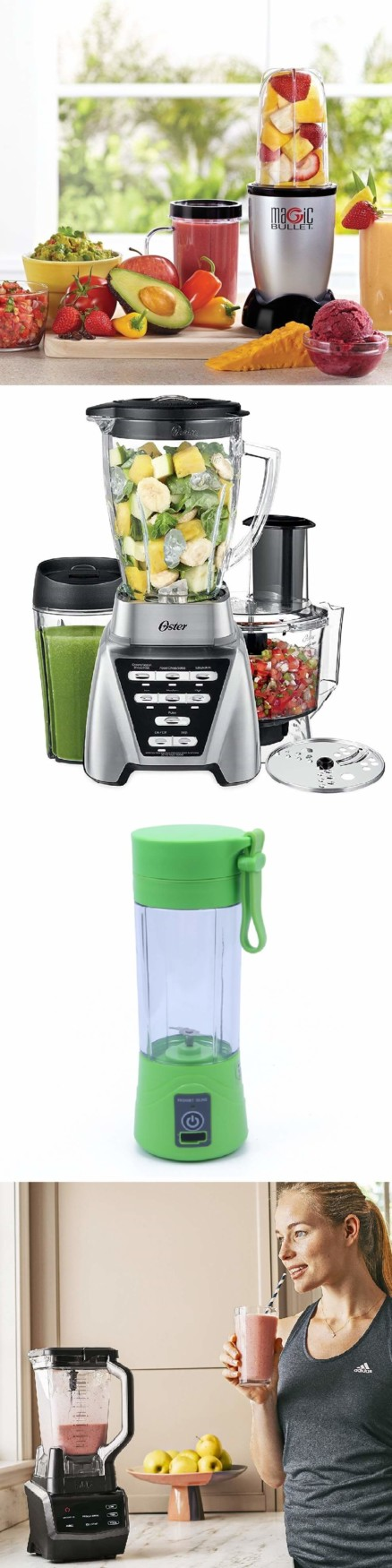 Blender. 50 Best Kitchen Utensils, Tools & Gadgets to Spend Less Time in the Kitchen