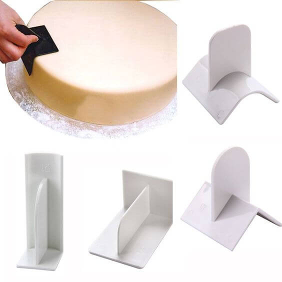Cake icing edgers and smoothers | Best Cake Decorating Tools, Equipment and Supplies for Pro Decorators