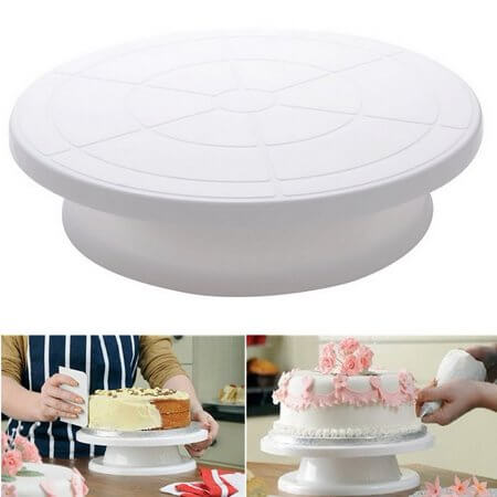 Cake icing turntables | Best Cake Decorating Tools, Equipment and Supplies for Pro Decorators