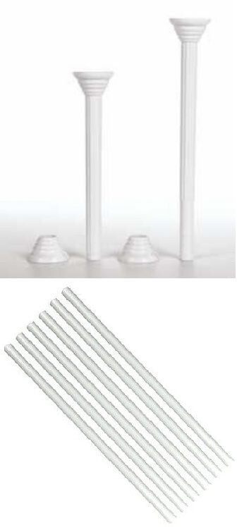 Cake separators, dowels, and pillars | Best Cake Decorating Tools, Equipment and Supplies for Pro Decorators