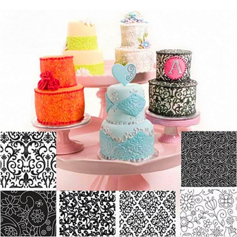 Cake textured sheets | Best Cake Decorating Tools, Equipment and Supplies for Pro Decorators