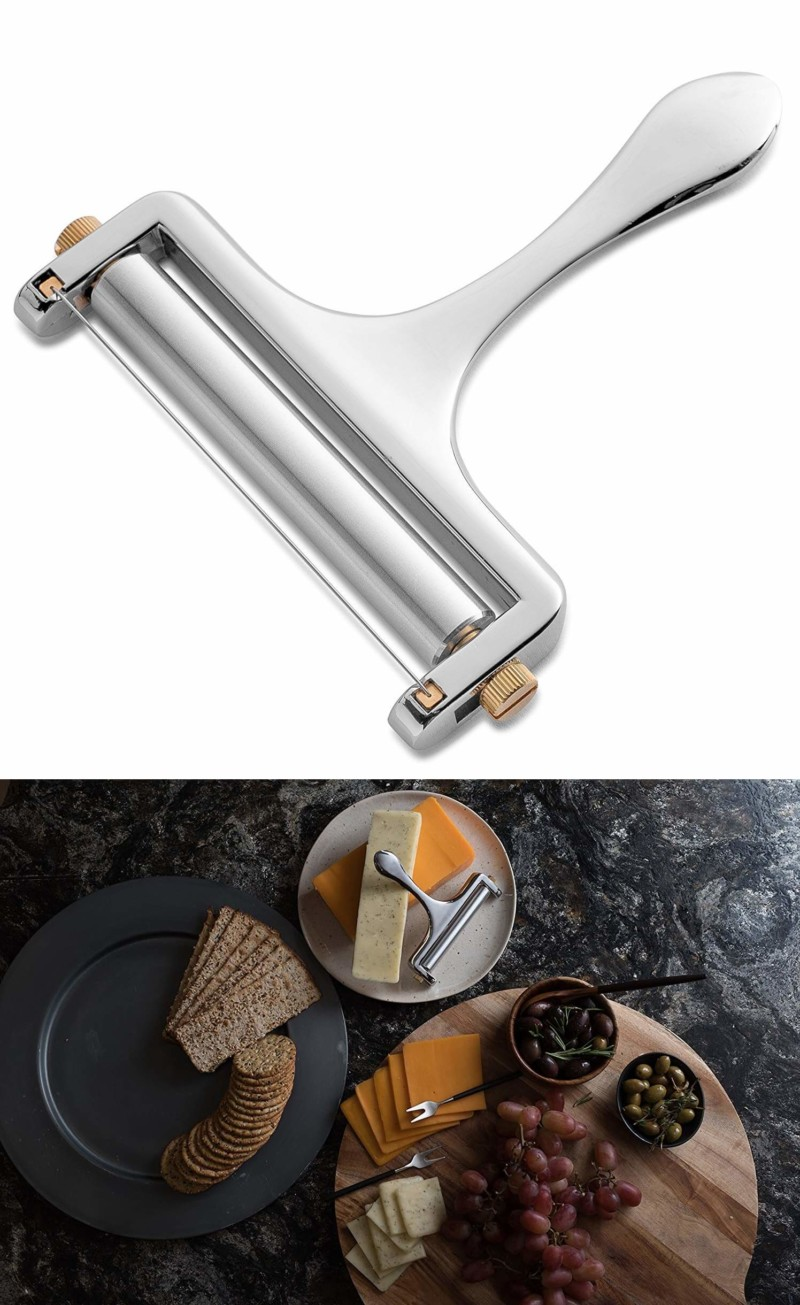 Cheese slicer | 50 Best Kitchen Utensils, Tools & Gadgets to Spend Less Time in the Kitchen