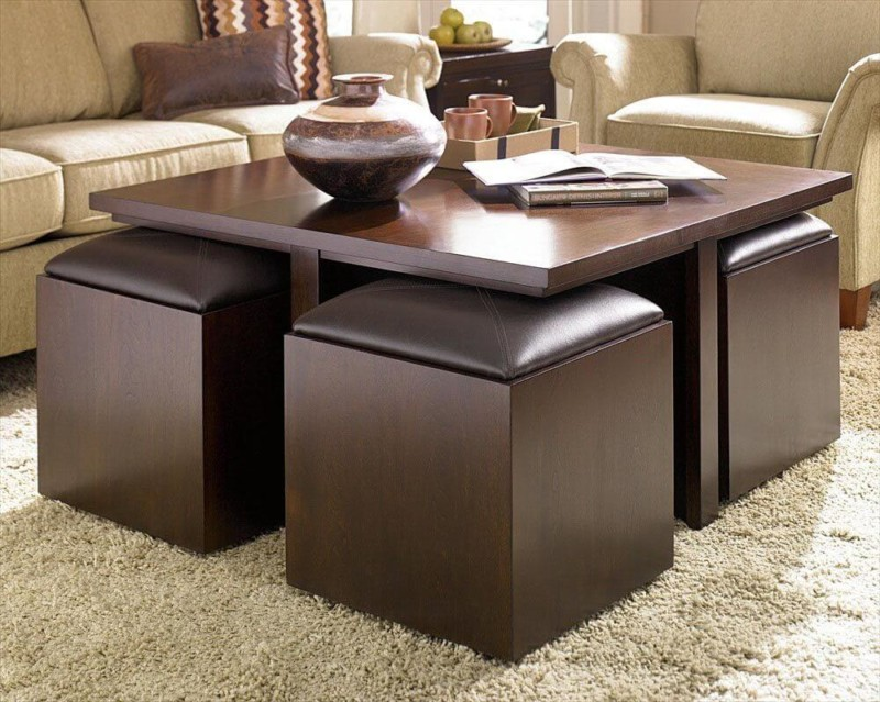 coffee table Extra Seating in Your Living Room