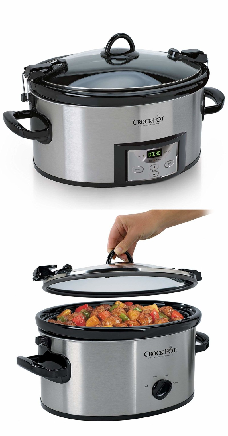 Crock-Pot. 50 Best Kitchen Utensils, Tools & Gadgets to Spend Less Time in the Kitchen