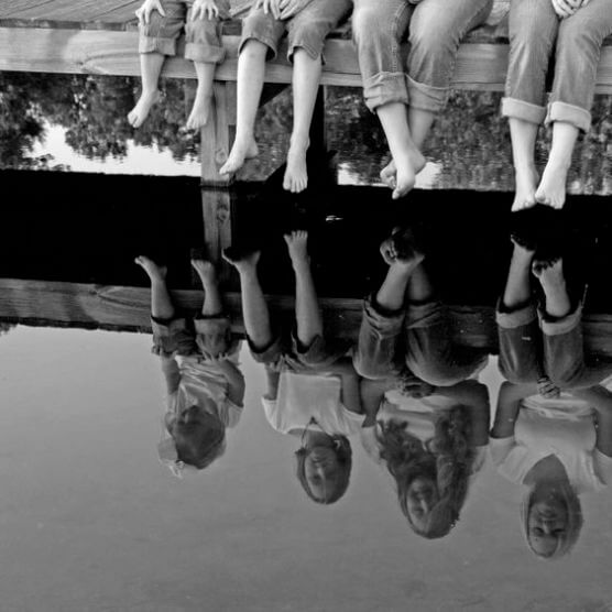 family reflection Family Photo Shoot Idea