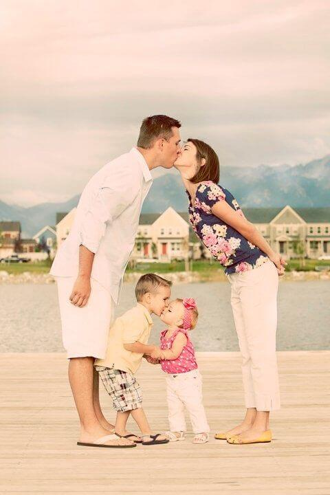 lovely family Family Photo Shoot Idea