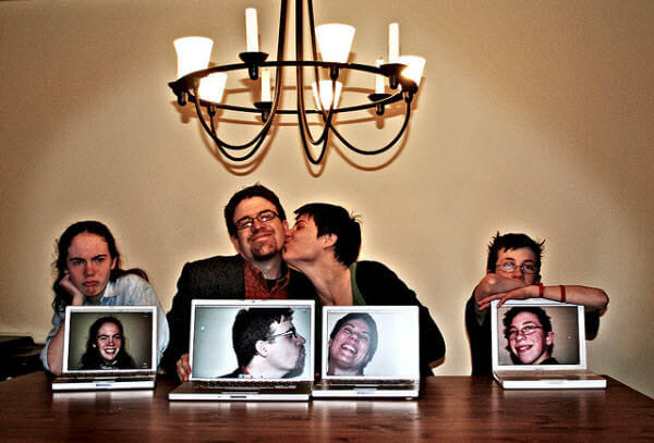 parallel world Family Photo Shoot Idea