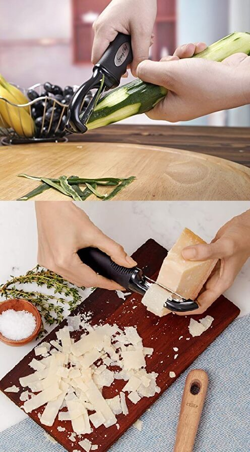 Peeler. 50 Best Kitchen Utensils, Tools & Gadgets to Spend Less Time in the Kitchen