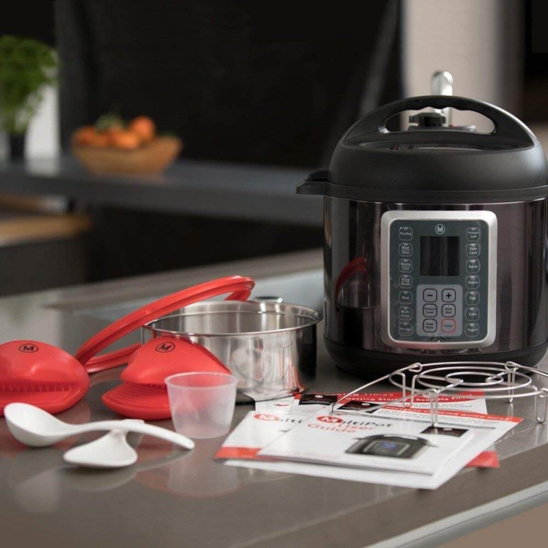 Pressure Cooker. 50 Best Kitchen Utensils, Tools & Gadgets to Spend Less Time in the Kitchen