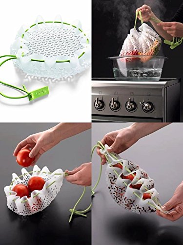Silicone Food Pod Cooking Basket and Strainer. 50 Best Kitchen Utensils, Tools & Gadgets to Spend Less Time in the Kitchen