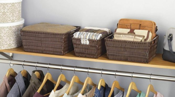 Baskets Wardrobe Organizers