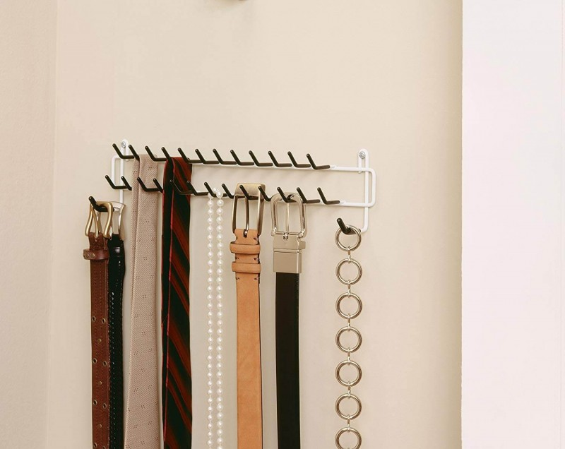 Belt and tie organizer Wardrobe Organizers