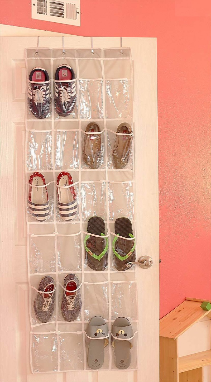 Over the door shoe organisers Wardrobe Organizers