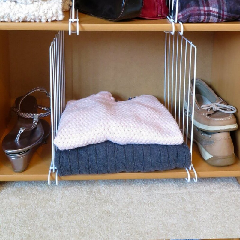 Shelf Divider Wardrobe Organizers