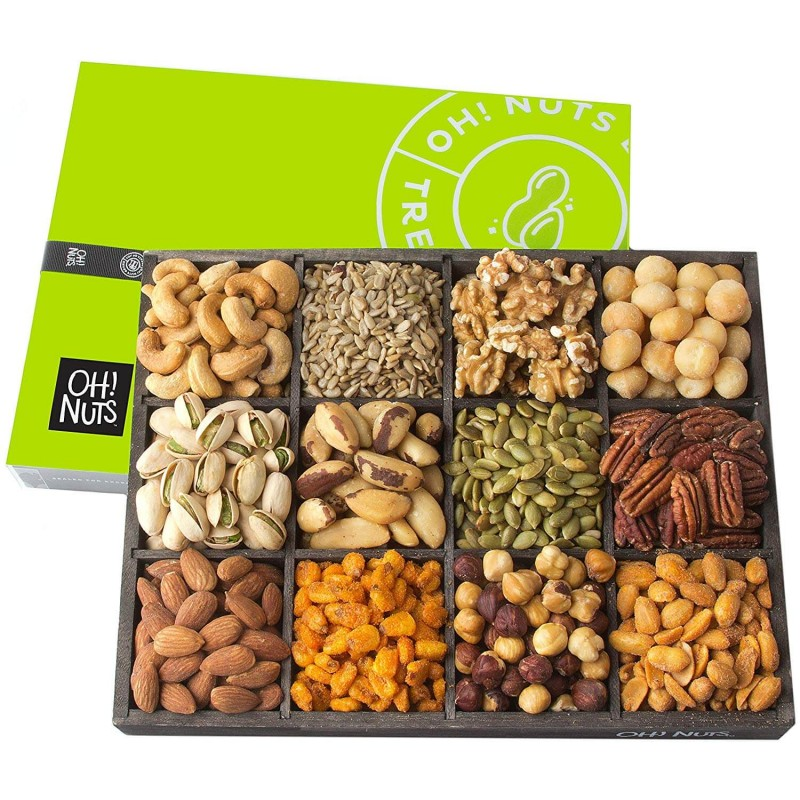 Oh! Nuts 12 Variety Mixed Nut Gift Basket