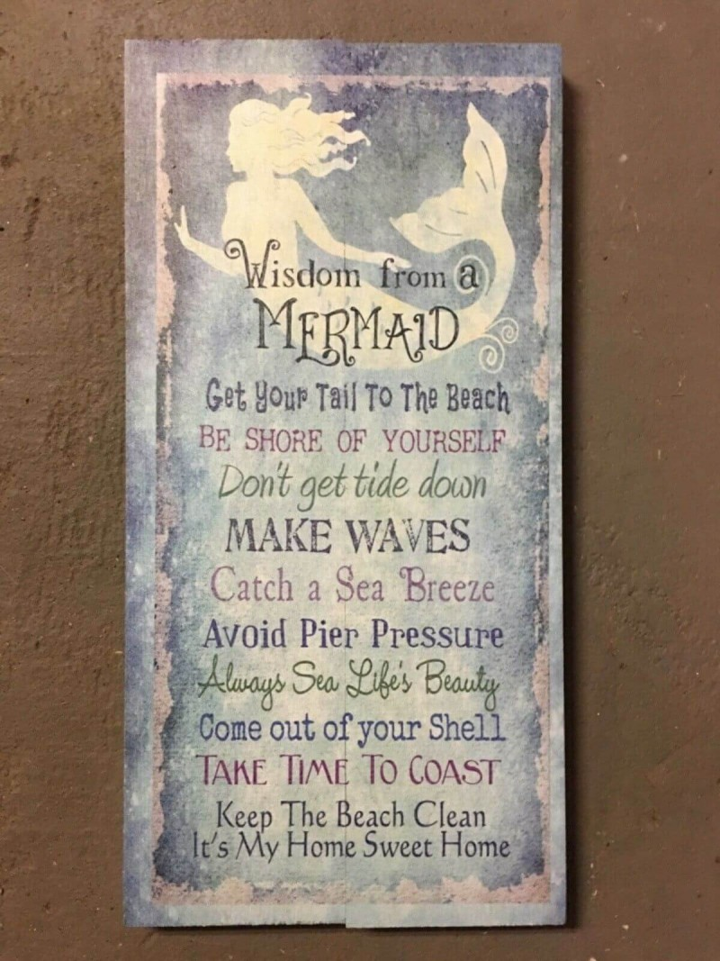Wisdom From A Mermaid